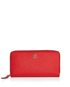 Tory Burch - Robinson Zip Leather Continental Wallet